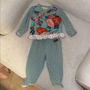 Matilda Jane Pajamas 3-6 Mos